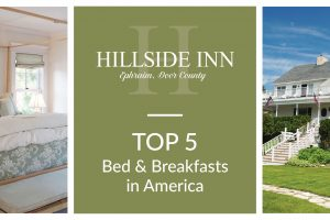 Top 5 Bed and Breakfasts in America